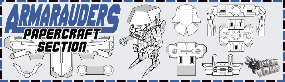 Papercraft Section