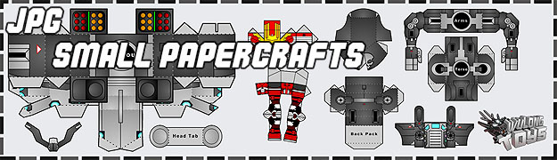Download Bellerophon Papercrafts small (JPG)